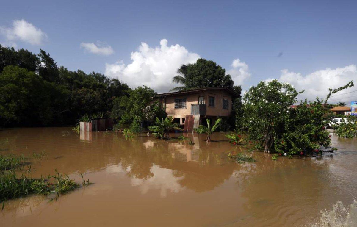 Algunas de las zonas más afectadas son el área de Saint Helena.