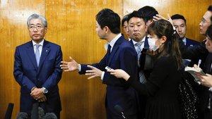 Tsunekazu Takeda explica su decisión de dimitir.