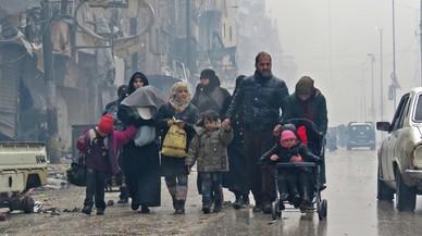 Siria contiene la respiración