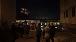 Desallotjades quatre vivendes a Sabadell després d'un ensorrament parcial en un edifici