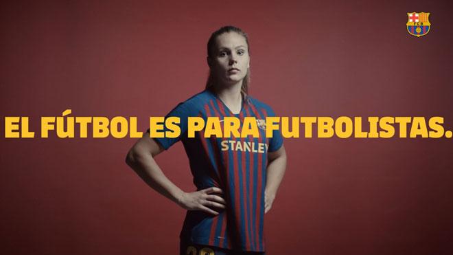 El Barça aposta per la igualtat en el futbol