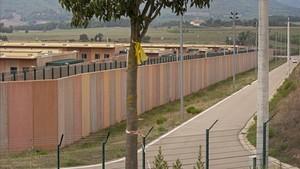 Vista de la prisión de Lledoners, en Sant Joan de Vilatorrada (Barcelona)