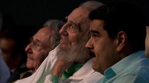 Fidel Castro y Nicolás Maduro, el pasado agosto en La Habana.