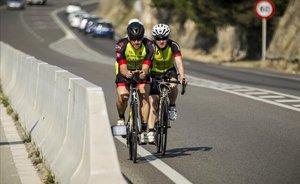 Cap de setmana negre per als ciclistes a la carretera
