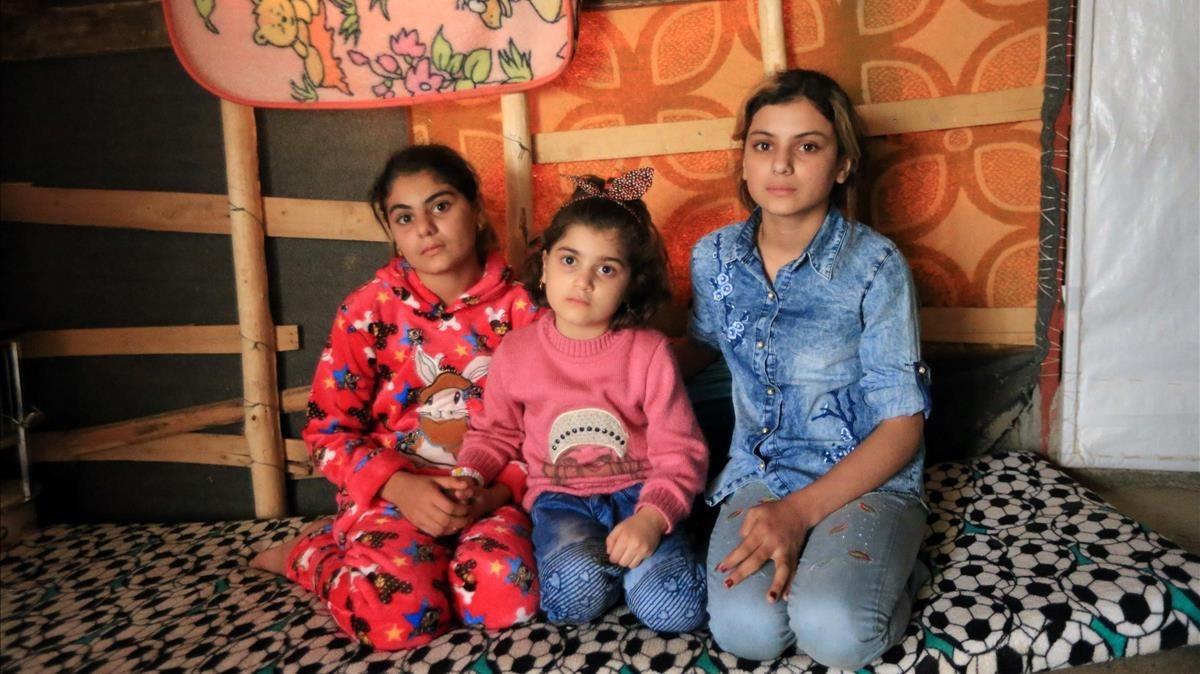Tres germanes yazidites es retroben després d'estar captives de l'EI