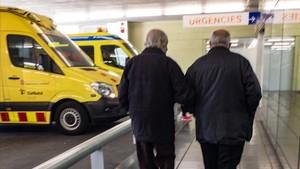 Urgencias del Hospital del Mar, Barcelona, este viernes.