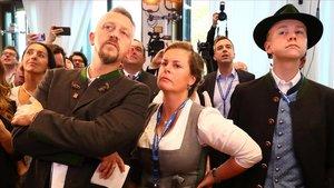 Els aliats de Merkel pateixen un dur revés electoral a Baviera