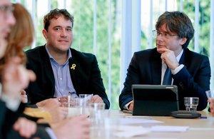 Desacord entre el PDECat i Puigdemont de cara a les eleccions