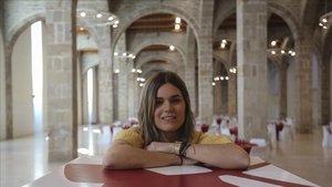 La poeta y, ahora también novelista,Elvira Sastre.