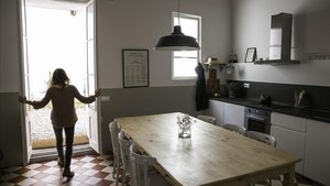 Un 'hostal de bolsillo' en Barcelona