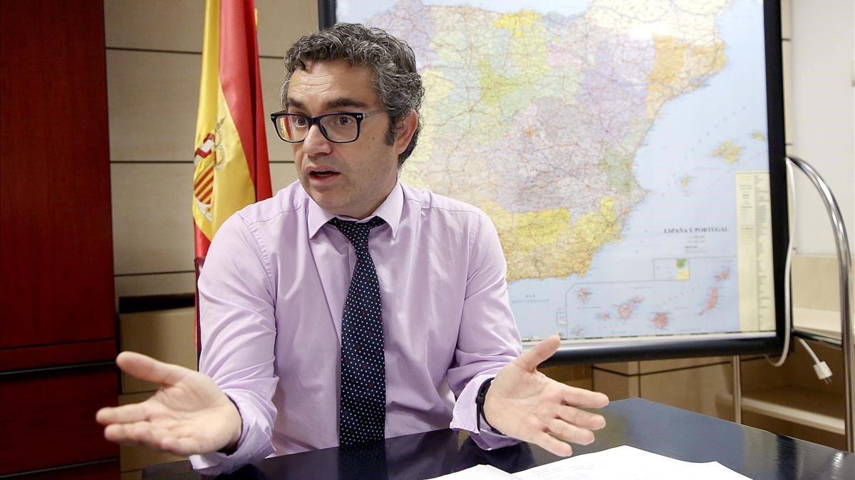 Jorge Ordás, subdirector general de Gestión de la Movilidad de la DGT