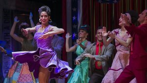 Ensayo de 'West Side Story', musical estrenado en Madrid en gira por España.