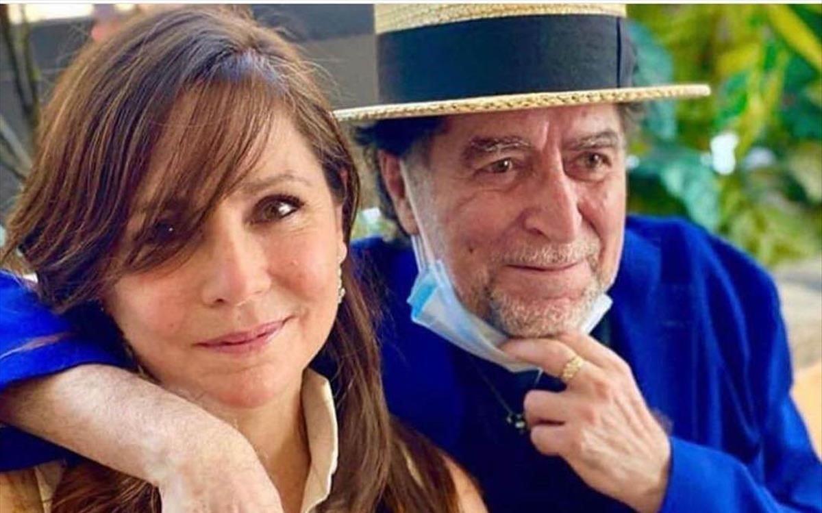 Joaquín Sabina y Jimena Coronado.