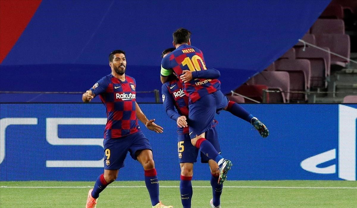 Messi lidera el Barça per eliminar el Nàpols