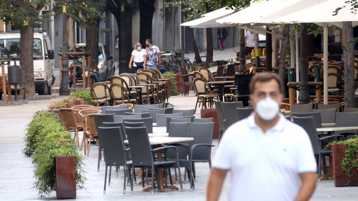 Girona registra la xifra de contagis més alta de la pandèmia de coronavirus amb 250 positius