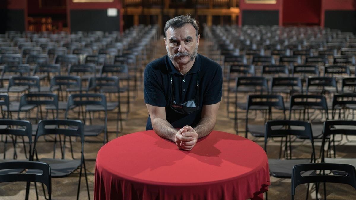Albert Guijarro (Apolo): «¿Per què un teatre pot acollir concerts, i nosaltres, no?»