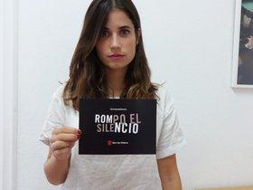 Campaña Rompo el silencio de Save The Children para que personas que fueron víctimas de abusos sexuales lo denuncien.