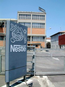 Fábrica de Nestlé en Asturias