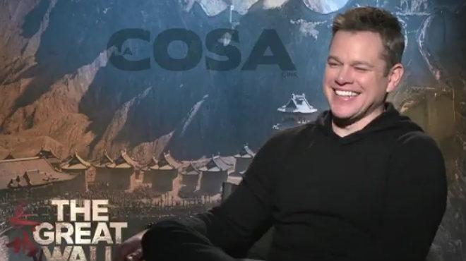 Matt Damon canta en castellà