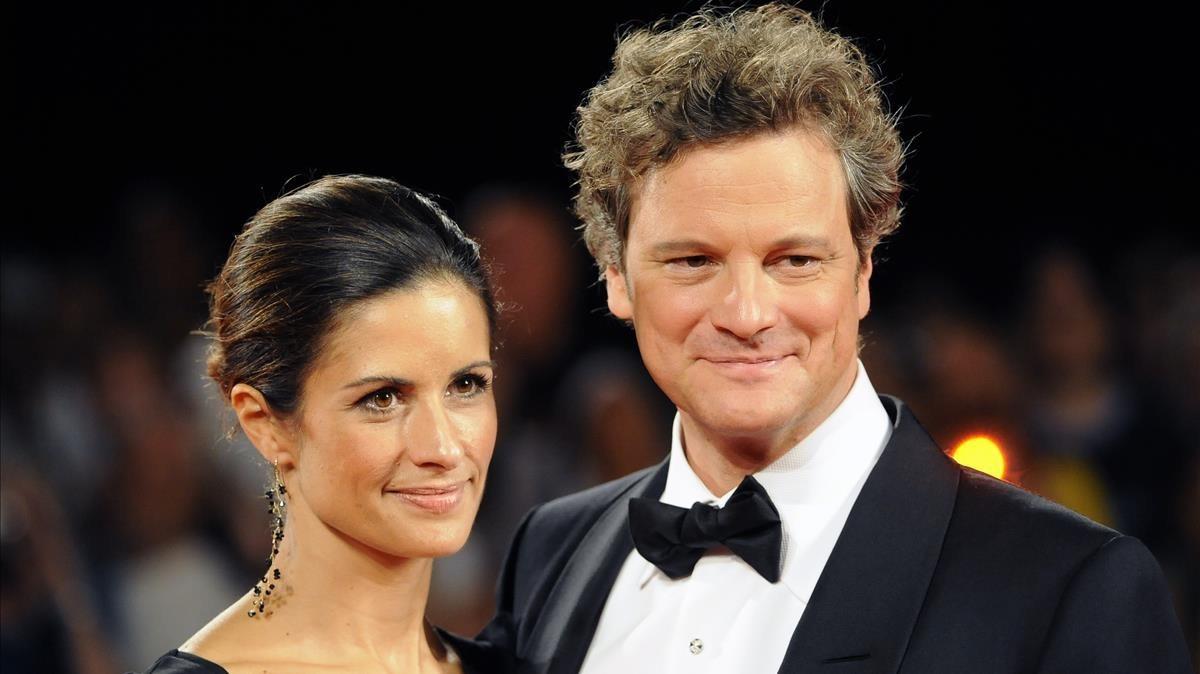 lmmarco11323593 british actor colin firth r and his wife livia giuggioli a180308133256