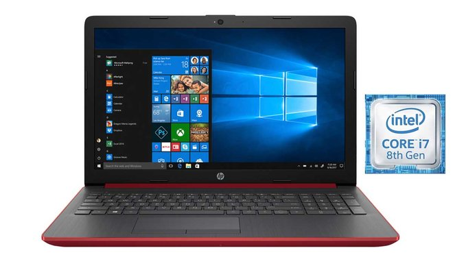 Portátil HP 15-da0091ns, i7, 8 GB, 1 TB HDD