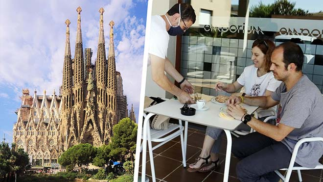 ¿Què es pot fer a Barcelona i l'àrea metropolitana a partir de dilluns?