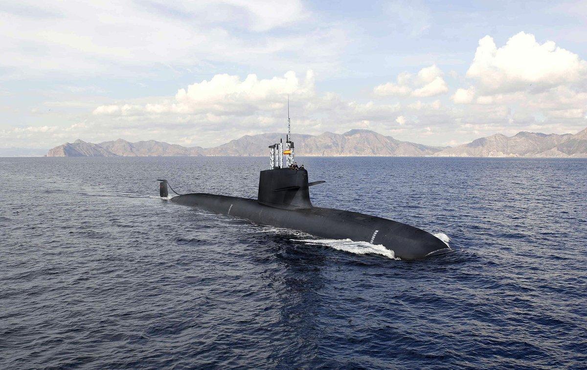 El submarino S-80 que construye Navantia en Cartagena.