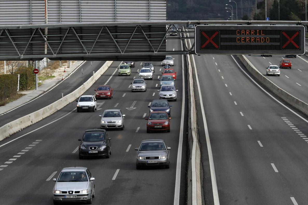 Autopista A-6, en una imagen de archivo.
