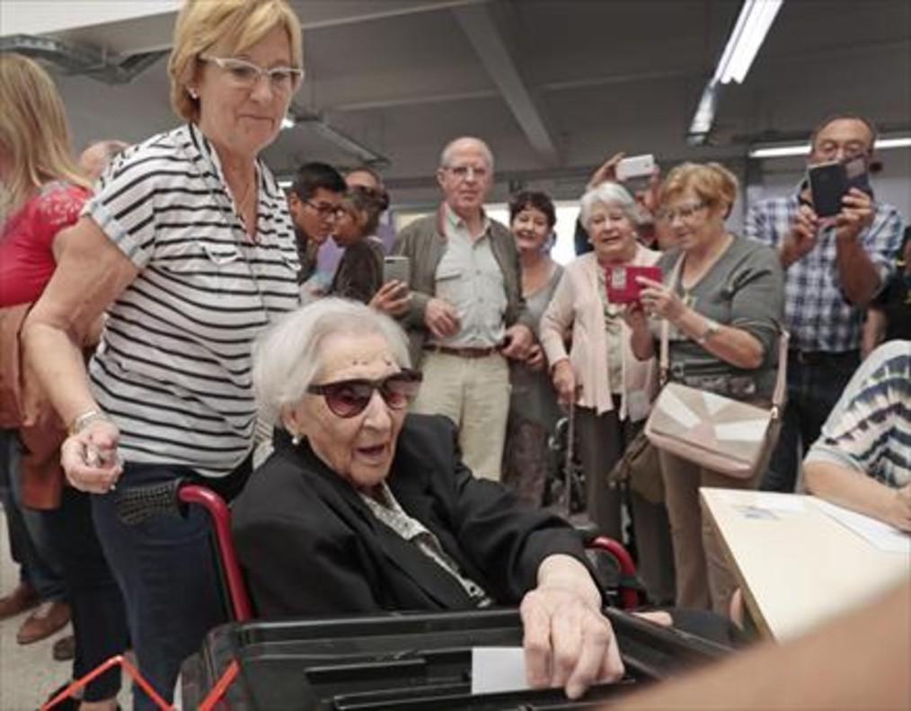 Los vídeos y fotos del referéndum de Catalunya