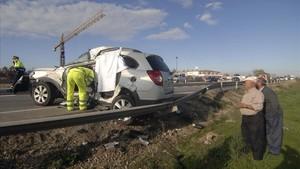Accidente mortal en la N-340.