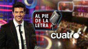 Mediaset recupera el formato 'Al pie de la letra' para reforzar la parrilla de Cuatro