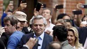 Alberto Fernández, candidato peronista a la presidencia de Argentina.
