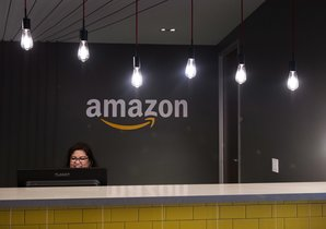 Las oficinas de Amazon, la empresa tecnológica líder en ventas por internet. Canadian Press via AP