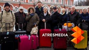 'Around the world': Ocho octogenarios que nunca han viajado darán la vuelta al mundo en Atresmedia