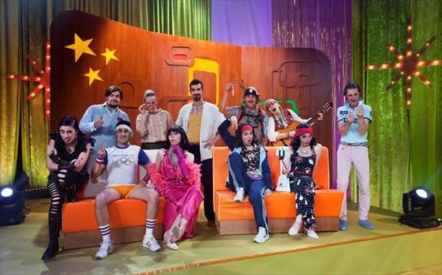 El equipo de actores improvisadores de 'Improstarr'.