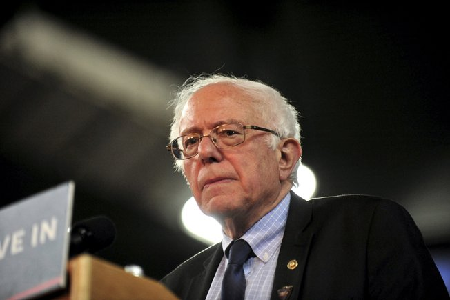 El veterano senador Bernie Sanders.