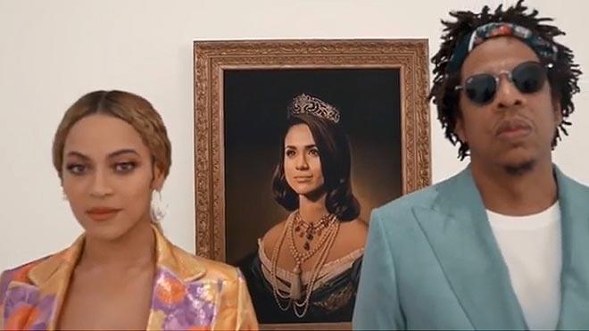 Beyoncé y Jay Z rinden homenaje a Meghan Markle.