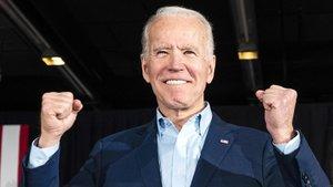 Joe Biden, durante la campaña.