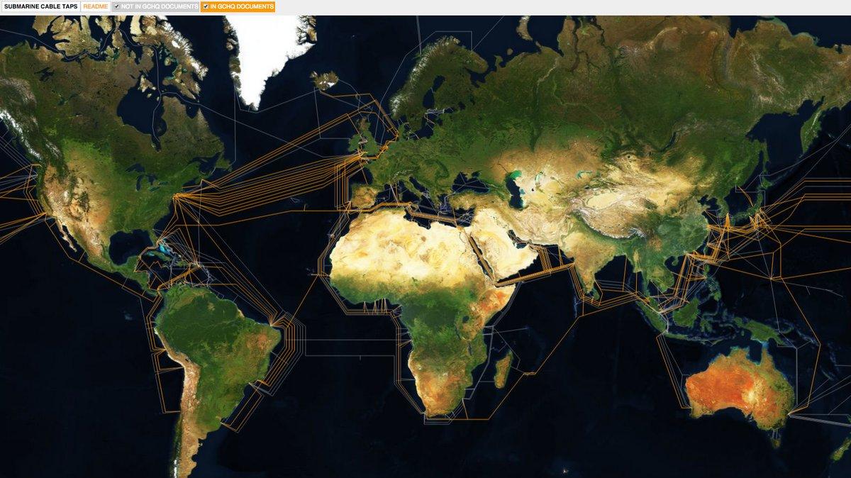 La cartografía del cableado que mantiene al planeta conectado a la red de Ingrid Burrington