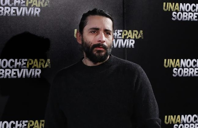 El cineasta Jaume Collet Serra, el març passat a Madrid, en la presentació dUna nit per sobreviure.