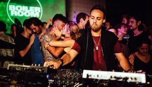 El DJestadounidense Maceo Plex, en una de las fiestas Boiler Room de Berlín.