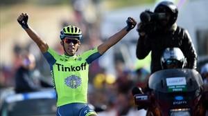 El ciclista Alberto Contador es uno de los principales favoritos de la Volta