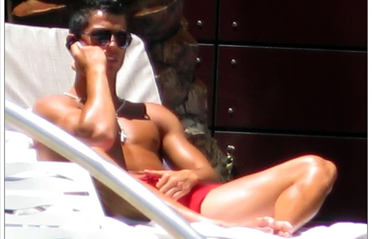 Cristiano Ronaldo, durante unas vacaciones en Las Vegas.