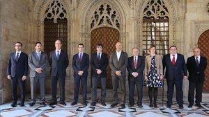 Los delegados del Govern en el Exterior del gobierno Puigdemont