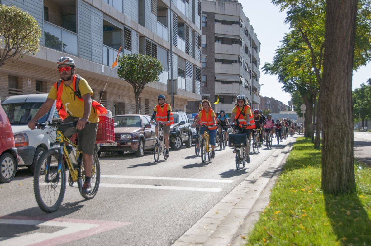 Conversió en zona de vianants de carrers, fires i bicicletades per celebrar la Setmana de la Mobilitat al Baix Llobregat