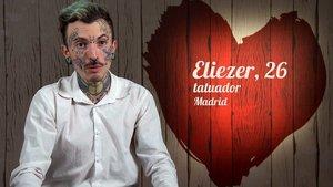 Eliezer, el comensal de 'First Dates' con más de 426 tatuajes.