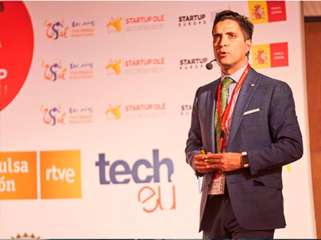 Emilio Corchado, CEO Startup Olé.
