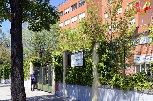 El Hospital Carlos III de Madrid.