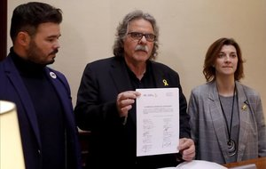ERC registra en el Congreso la enmienda a la totalidad de los Presupuestos Generales del Estado.