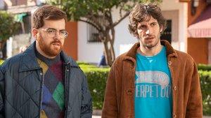 Escena de 'El vecino', la comedia española de Netflix.
